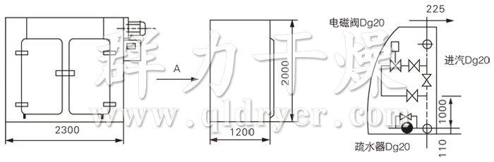 GMP烘箱结构示意图